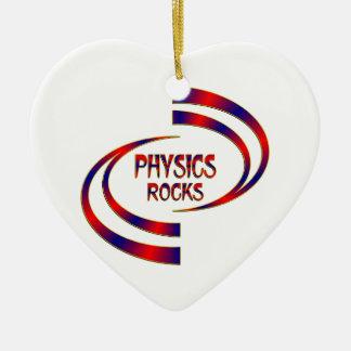 Physics Rocks Ceramic Ornament