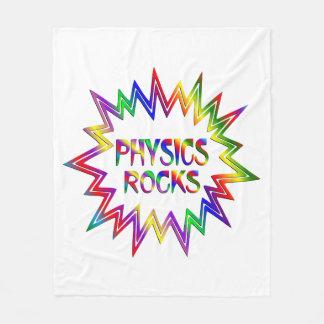 Physics Rocks Fleece Blanket