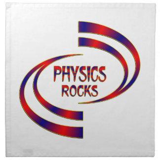 Physics Rocks Napkin