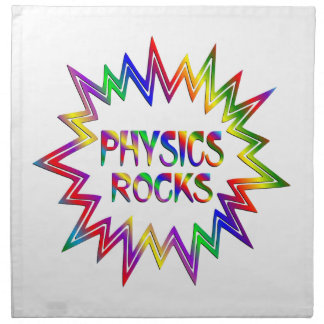 Physics Rocks Napkin