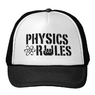 Physics Rules Mesh Hats