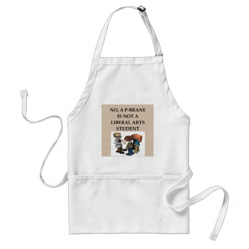 PHYSICS string theory Aprons