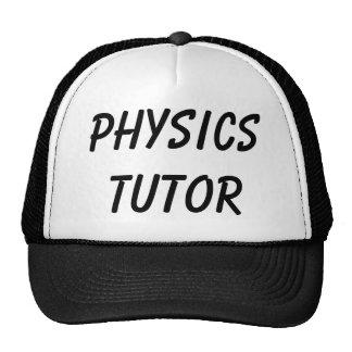 PHYSICS TUTOR TRUCKER HAT