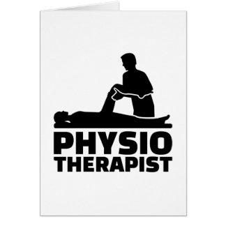 Physiotherapist Card