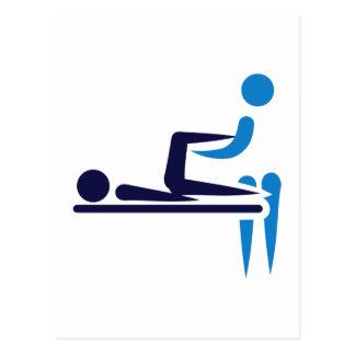 Physiotherapist Postcard