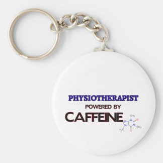 Physiotherapist Powered by caffeine Key Chains