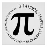 Pi (π) Day Poster
