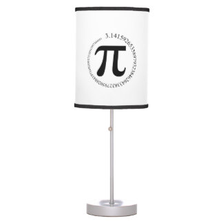 Pi (π) Day Table Lamp