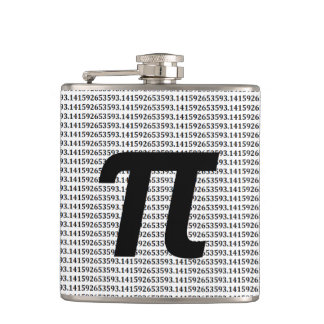 Pi: 3.14 Math Geek Flasks