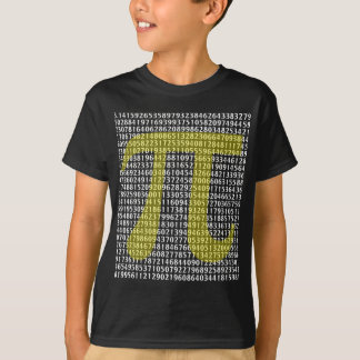 Pi 3.14 to Hundred of Digits T-Shirt