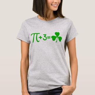 Pi + 3 = Shamrock T-Shirt