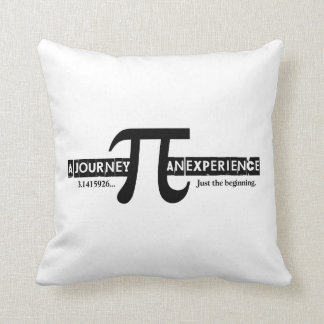Pi: A Journey. An Experience Throw Pillow