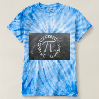 Pi against a background t-shirt