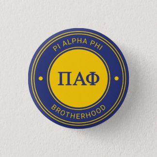 Pi Alpha Phi | Badge 1 Inch Round Button