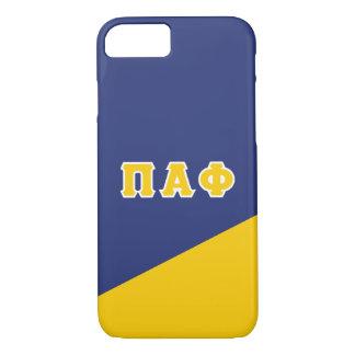 Pi Alpha Phi | Greek Letters iPhone 8/7 Case