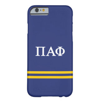 Pi Alpha Phi | Sport Stripe Barely There iPhone 6 Case