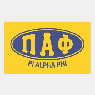 Pi Alpha Phi | Vintage Sticker