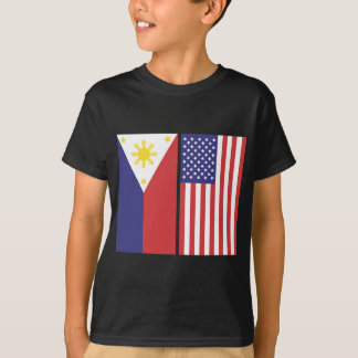 PI and US Flags T-Shirt