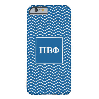 Pi Beta Phi   Chevron Pattern Barely There iPhone 6 Case