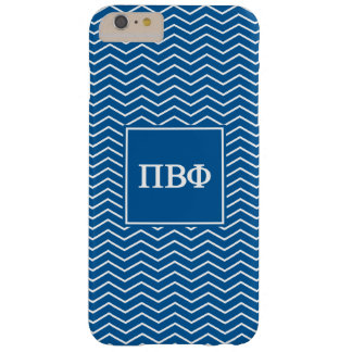 Pi Beta Phi | Chevron Pattern Barely There iPhone 6 Plus Case