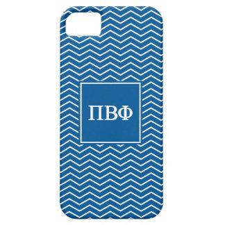 Pi Beta Phi | Chevron Pattern iPhone 5 Covers