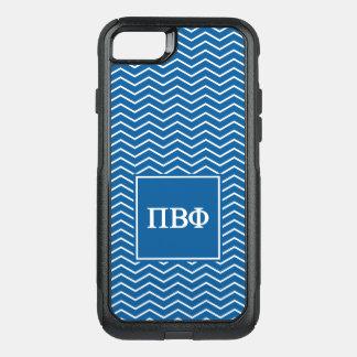 Pi Beta Phi | Chevron Pattern OtterBox Commuter iPhone 8/7 Case