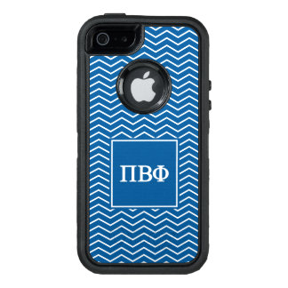 Pi Beta Phi | Chevron Pattern OtterBox Defender iPhone Case