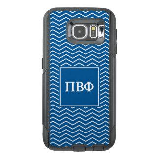 Pi Beta Phi | Chevron Pattern OtterBox Samsung Galaxy S6 Case