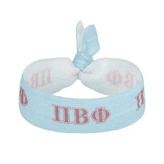 Pi Beta Phi Maroon Letters Hair Tie