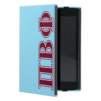 Pi Beta Phi Maroon Letters iPad Mini Case
