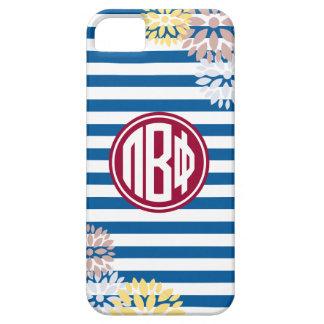 Pi Beta Phi | Monogram Stripe Pattern iPhone 5 Cases
