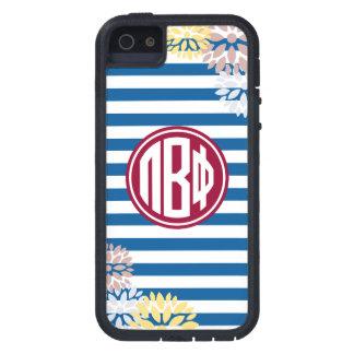 Pi Beta Phi | Monogram Stripe Pattern iPhone 5 Covers