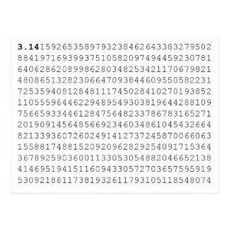 Pi Celebrate 3.14 Pi Day Postcard
