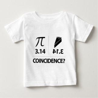 Pi Coincidence math joke Baby T-Shirt