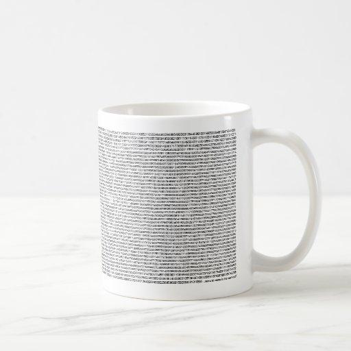 pi cup coffee mug