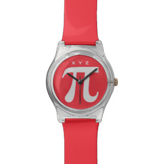 Pi custom monogram watches