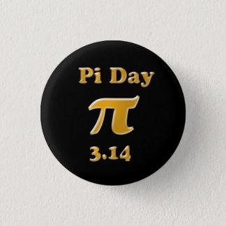 Pi Day 1 Inch Round Button