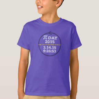 Pi Day 2015: A once-in-a-lifetime moment! T-Shirt