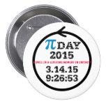 Pi Day 2015—celebration button