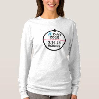 Pi Day 2015 (gray tshirt women M)