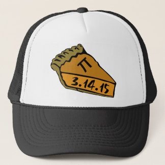 Pi day 2015 trucker hat