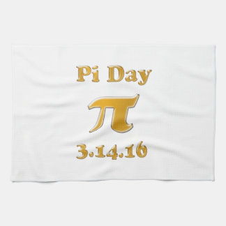 Pi Day 2016 Kitchen Towel