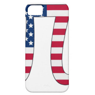 Pi Day American flag, pi symbol Case For The iPhone 5