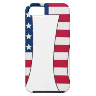 Pi Day American flag, pi symbol iPhone 5 Cover