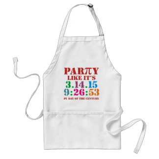 Pi day apron ultimate 2015 3.14.15 9:26:53 BBQ