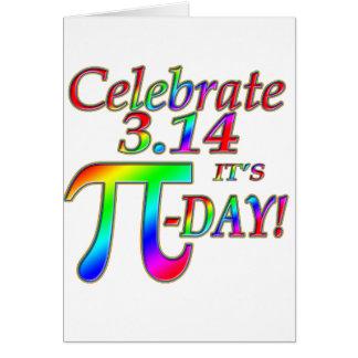 Pi Day Card