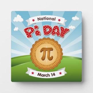 Pi Day, Celebrate Math, Eat Pie! Plaque