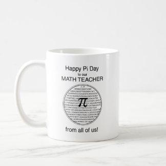 Pi Day Circle Coffee Mug