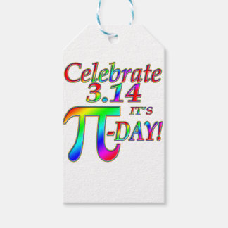 Pi Day Gift Tags