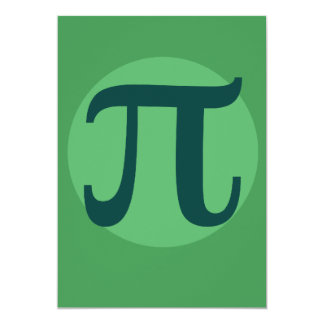 Pi Day Green Card